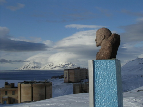 barentsburg / russia in norway