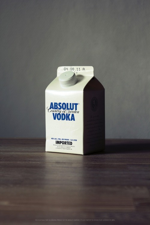 Vodka Milk Packaging