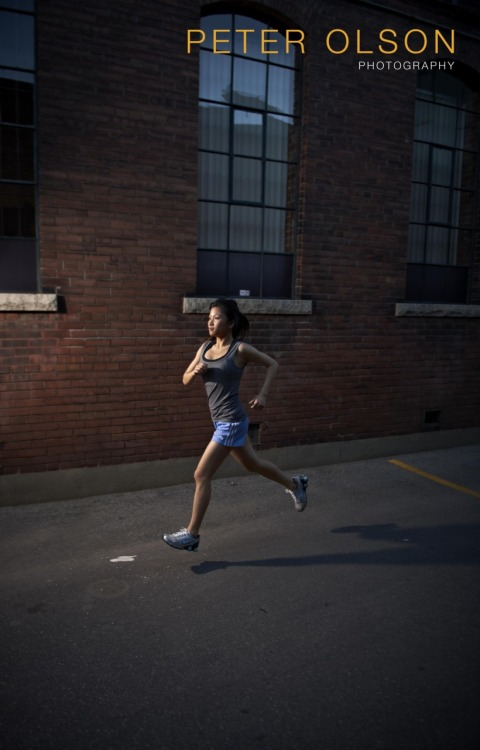 First shot from a running creative I shot earlier in the week. I was playing around with the Elinchrom Quadra Ranger pack, pretty slick  -p