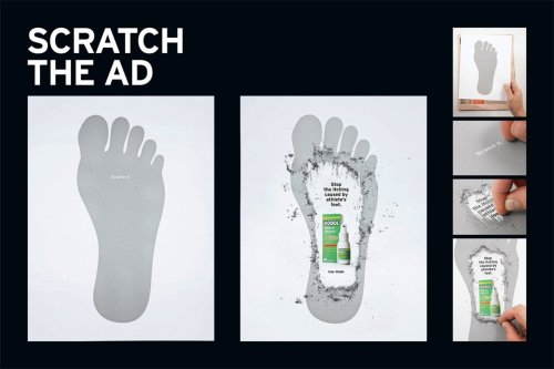 jaymug:  Vodol: Scratch the ad - Stop the itching caused by athlete's foot.