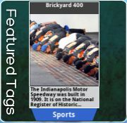 Today we launch stories all around Indianapolis in honor of the Brickyard 400.  Here is our featured tag about that iconic race.  For more information about our Tagwhat Brickyard 400 Southwest Airlines Giveaway go to http://www.tagwhat.com.