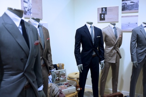 How tailored garments should fit.  Also, the Italian Prep has the most built-in sprezzatura  of any 'look'.  Maybe that's why there's no english language equivalent of the word…  Photo courtesy of A Continuous Lean