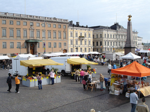 european-cities:  Helsinki's Market by Eoghan OLionnain on Flickr. Helsinki, Finland