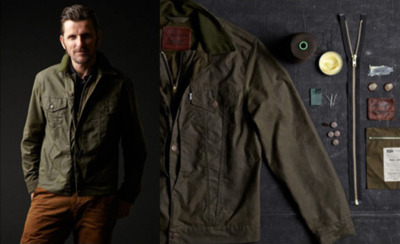 """Levi's and Filson have teamed up to release the second installation of their Levi's Workwear by Filson collaboration, a capsule collection featuring iconic silhouettes and celebrated fabrics and materials from both brands. Composed of five men's pieces, the collection will debut in limited quantities on Monday, August 8. The pieces will be available in select Levi's and Filson stores, and online at www.filson.com and www.levi.com."""