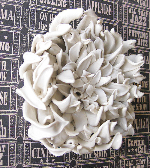 Dahlia wall sculpture from aschwer.