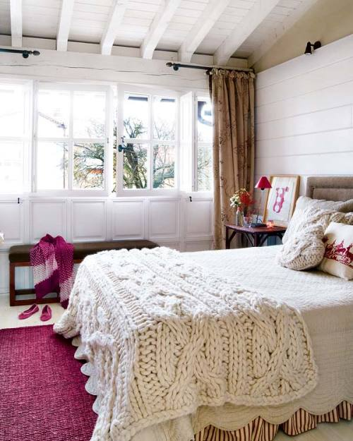 knitted bedding