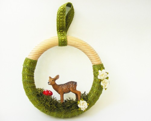 Woodland wreath from aclementina.
