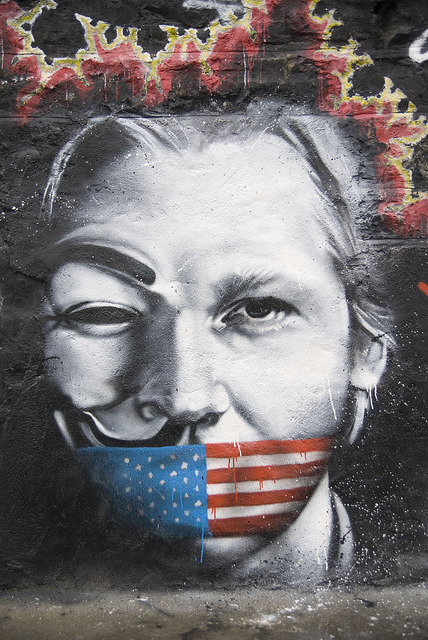 psychedelicmandala:  Julian Assange Wikileaks named Man of the Year