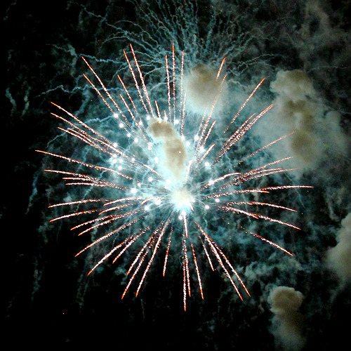 nebulosaplanetaria:  Fireworks #1 (by -Clearlight-)