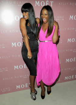 KELLY ROWLAND x TIKA SUMPTER  #TeamChocolateGoddess