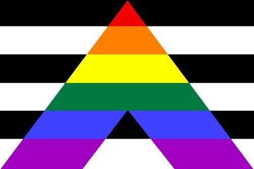 Raise (Your) Flag Part 6 Straight Ally Pride Flag