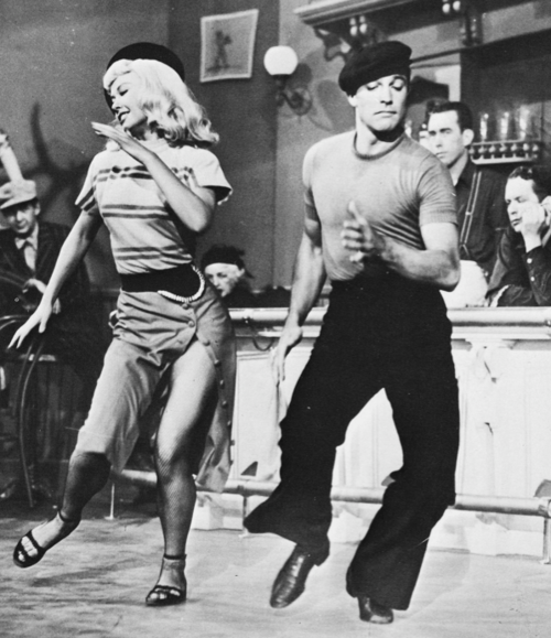Next is Words and Music!  Gene Kelly guest starred in this movie in a dance with the lovely Vera-Ellen. This dance (to the music of Slaughter on 10th Avenue) was just phenomenal!