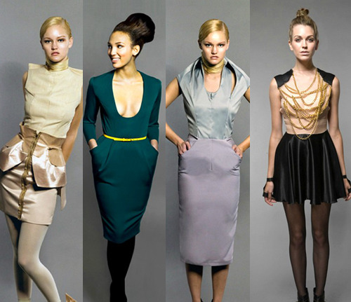 wickedne:  Dresses by Boston fashion designer David Chum. He may have gotten eliminated from Project Runway but he's got a runway show in Rhode Island coming up- read more here