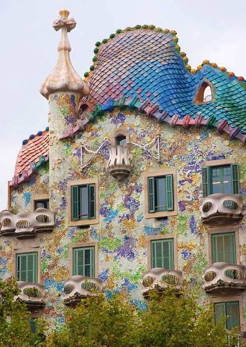 Casa Batlló, Barcelona, Spain (via Favorite places)