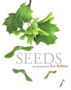 Seeds (2005) text and pictures by Ken Robbins.  Summer is the perfect laid-back time to do some little science explorations with your kids. This book can kick off the inquiry with clear pictures that give little ones a great introduction to the world of plants. So as you're enjoying the summer days, make some guacamole, keep the seed and let it sprout on your window sill.