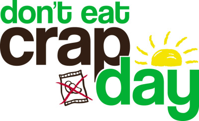 fitmebaby:  isn't everyday don't eat crap day? :o
