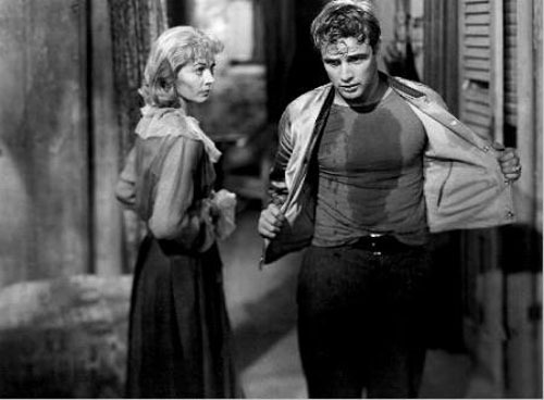"A Streetcar Named Desire. Vivien Leigh and Marlon Brando in one of their best performances. This is such a beautiful, classic film, this movie represents the essence of this film era and genre. A prime example of how a stageplay to screenplay should be.    ""I don't want realism. I want magic! Yes, yes, magic. I try to give that to people. I do misrepresent things. I don't tell truths. I tell what ought to be truth."". - Blanche"
