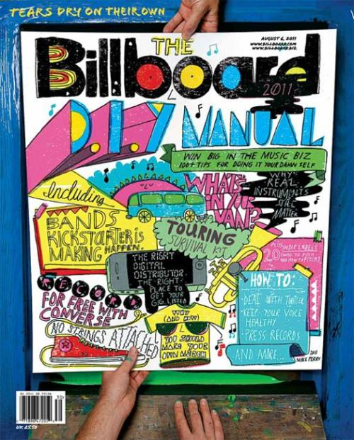 Love the new cover of @Billboarddotcom mag & the DIY topic! cc @danamo