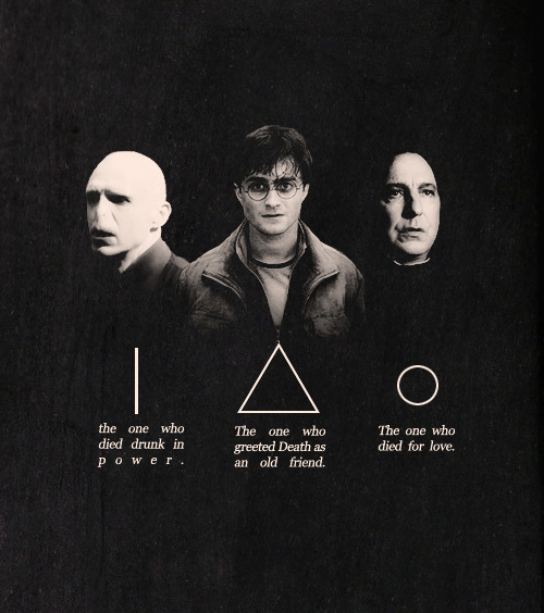Oooh The Deathly Hallows themselves!!