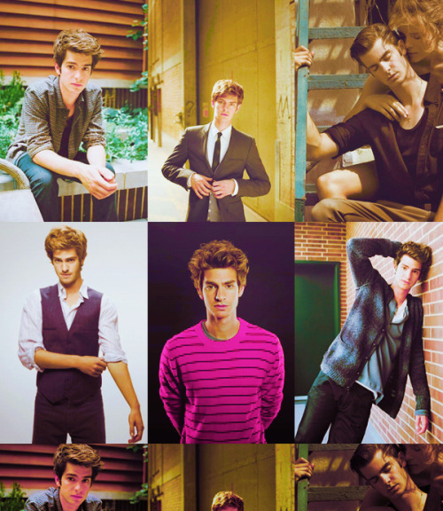 6 favorite photos|| Andrew Garfield ||requested by:kathryneweasley