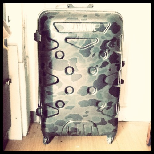 New suitcase, man! instagram)