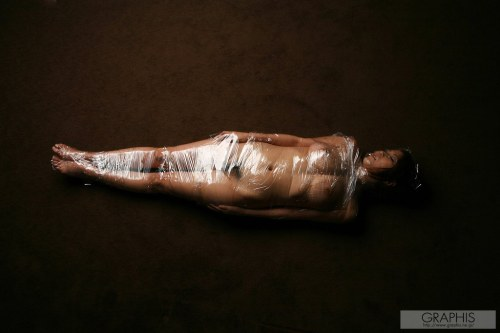 Naked Girls In Plastic Wrap
