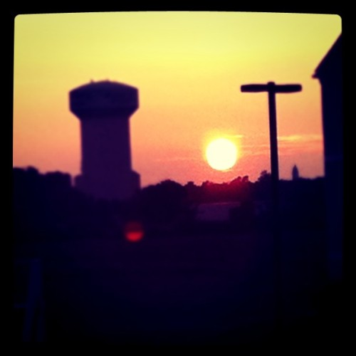 Sunset… (Taken with instagram)
