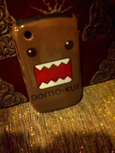 loving my new domo phone case!!