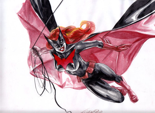 xombiedirge:  Batwoman Commission by JK Woodward