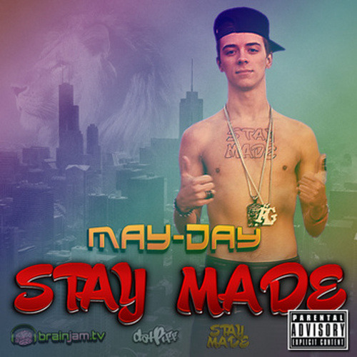 fckyeahwhiterappers:  Download Stay Made, the new mixtape from rapper May-Day right HERE!