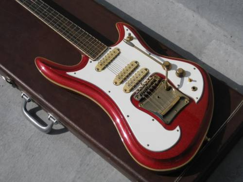 1982 Guyatone LG-1200 Sharp-five is also known in my book as Japanese Coolness.