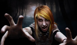 wearefaithwearehopeweareanswers:  Hayley Williams ZOMBIE MODE