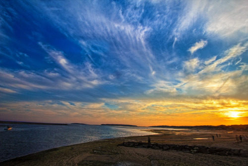 Sunset from the Wellfleet Pier by Samantha Decker on Flickr.