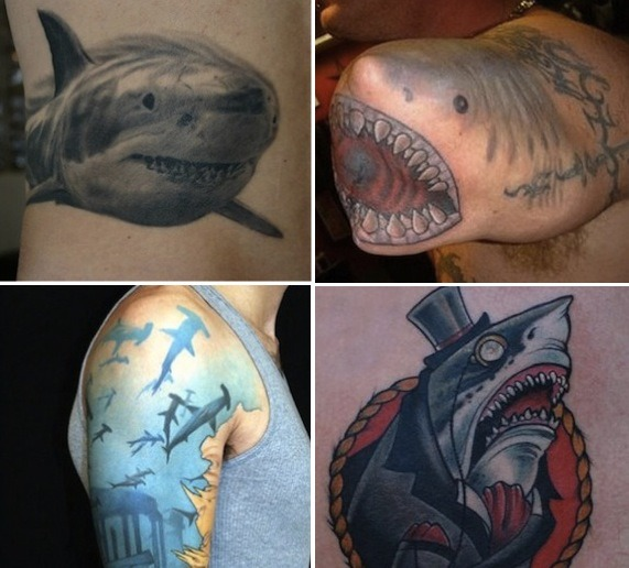 22 Jaw-Dropping Shark Tattoos [CLUTCH] Happy Shark Week everybody.