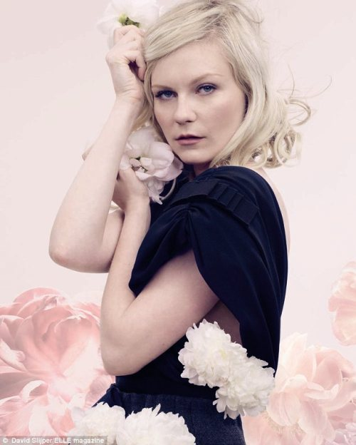 Kirsten Dunst by David Slijper for Elle UK (September 2011).