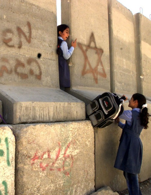 poeticislam:  Palestinians going to school….and it's sad that so many people in the world don't value their education.
