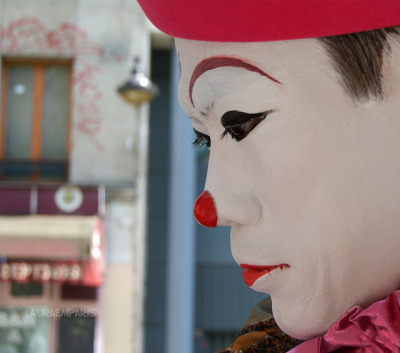 clown by Laura em Paris on Flickr.