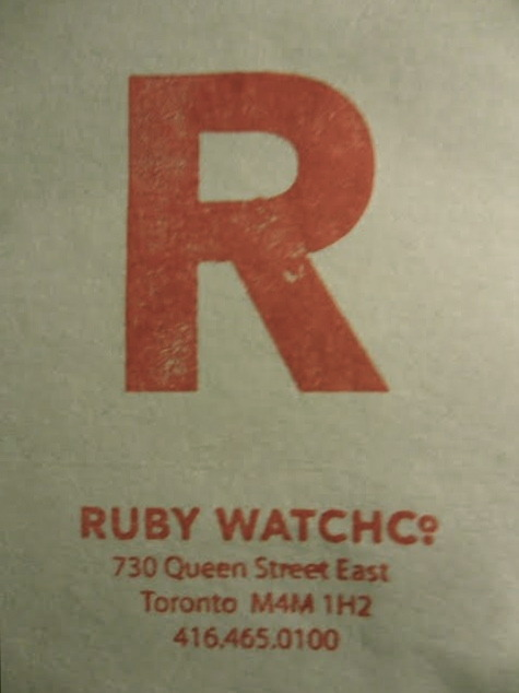 Dinner at Ruby WatchCo – Thursday, July 28th 2011 Good food is well worth the wait – even if its three months in the making.  I first heard about celebrity chef, Lynn Crawford, at the agency. I had gotten a call from a photographer who needed a senior hair & make up artist to style Crawford for the cover of her latest cookbook. As you'd expect when dealing with celebrities, there was an unsettling exigency about the photographer's excessive calls. She kept confirming I had booked the best stylist possible, one who could tame Crawford's thick hair.  And so I was prompted to look her up.  I thought to myself: Who is this Lynn Crawford, anyway? What's all the fuss, and why should I care about her thick hair?  What I found made my mouth water, and suddenly, there was nothing appetizing about my $5 chow Mein lunch. Crawford is a gastronomy genius and in an industry dominated by men, she's soared past the glass ceiling and into the upper echelons of chef-hood. Executive chef at the Four Seasons New York and Toronto, Iron Chef alumnus and restaurant makeover star – Crawford is a big deal and thankfully a local and accessible one too. You can imagine my excitement when I found out she'd quit the Four Seasons to open up shop in Toronto's East end strip – Ruby WatchCo, a cozy dinning room with a prix fix daily changing menu.  Three months later, I'm sat in Ruby WatchCo. I've especially prepared myself for the experience – I'm tired and famished from work but my senses are super alert. I'm looking out to see if the experience will live up to everything I'd heard and read about, and fortunately I am not let down. The ambience was really relaxed - sophisticated but with a neighborhood feel, the staff was incredible, and the food - you'll have to try it because my writing won't do it any justice. The restaurant really does capture the essence of a family dinner – the kitchen is visible, servers charmingly unveil dishes like mother would, meals are served in Le Crueset pots to be shared by the table (so cute), there's a familial winter coziness about the ambience, and all of that familial bliss is very contagious – guests are buzzing with camaraderie and inter-table chat keeps the evening alive. THURSDAY, JULY 28TH 2011 WALNUT HILL FARM'S PORK SHOULDER SALAD Green Cabbage, Ruby's B&B Pickles, Grated Carrots, Pickled Mustard Seeds, Brown Derby Vinaigrette RUBY'S B.B.Q BRICK CHICKEN Grilled Ontario Corn with Queso Fresco & Chipotle Aioli, Warm Fingerling Potato Salad with Caramelized Onion & Dill Dressing, Sovereign Farm's Tomato & Cucumber Salad with Basil Pesto BLUE HAZE BY ABBAYE DE SAINT-BENOIT DU LAC Strawberry & Port Jelly WARNER FARM'S APRICOT BAKLAVA Amaretto Mascarpone, Honey Roasted Apricots