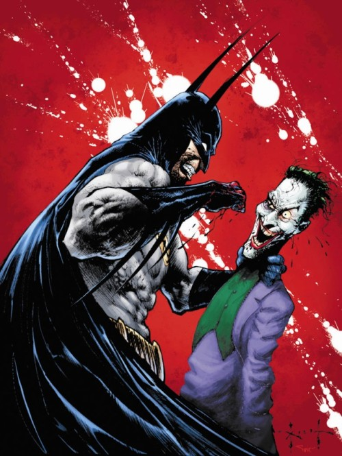 Batman & The Joker - by Sam Kieth