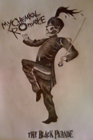 Black Parade guy i drew.