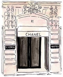 Even a drawing of this store excites me…i think i need a xanax