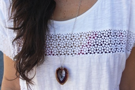 (via Articles: DIY: Walnut Heart Necklace — By Johnie Gall — Foam Magazine Articles)