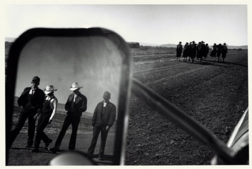 Mennonites at Capulin, Chihuahua, Mexico, 1996 Larry Towell