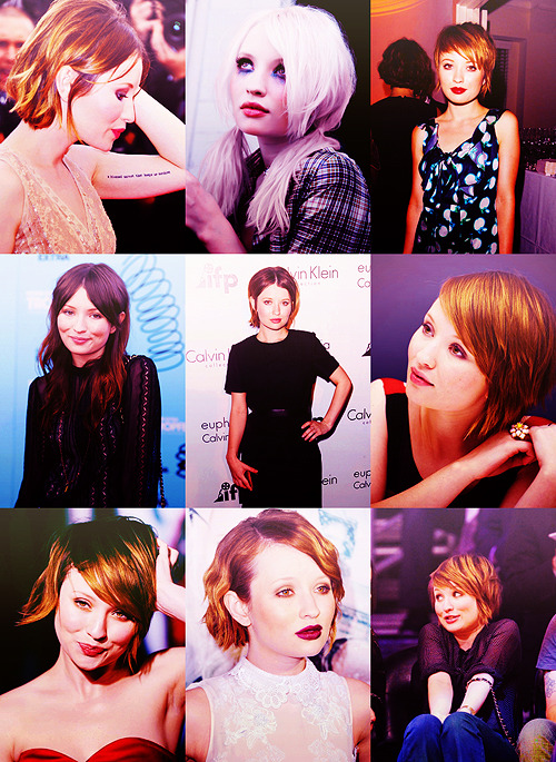 MY BIGGEST LIFE RUINERS  ››  EMILY BROWNING