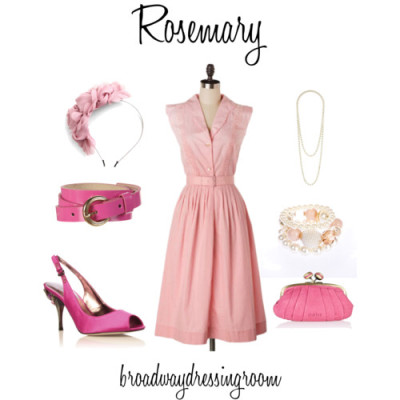 Rosemary by broadwaydressingroom featuring a pink beltFull skirt dress, $50Carvela golden shoes, £19Oasis leather bag, $20South sea pearl jewelry, £7.99Dorothy Perkins south sea pearl necklace, £7TopShop pink belt, $24Headbands hair accessory, $14