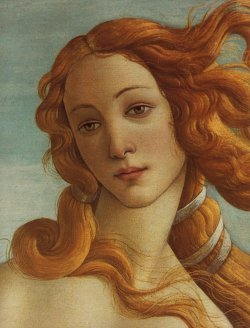 earlyfrost:  Birth of Venus (detail), 1486, Sandro Botticelli