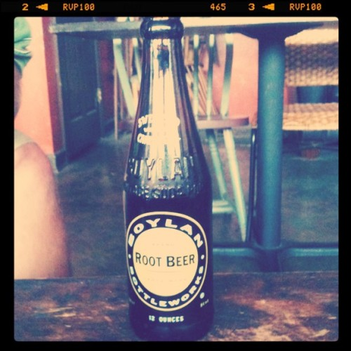 @barefootfriar's beverage (Taken with Instagram at Rivertown Coffee)