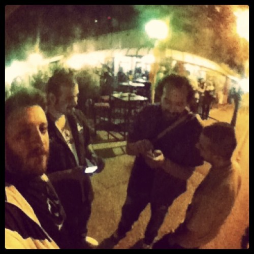 #me & #friends  (Taken with Instagram at Cafè Degli Artisti)