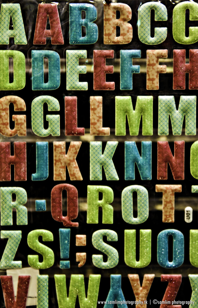 Colors of The Alphabet