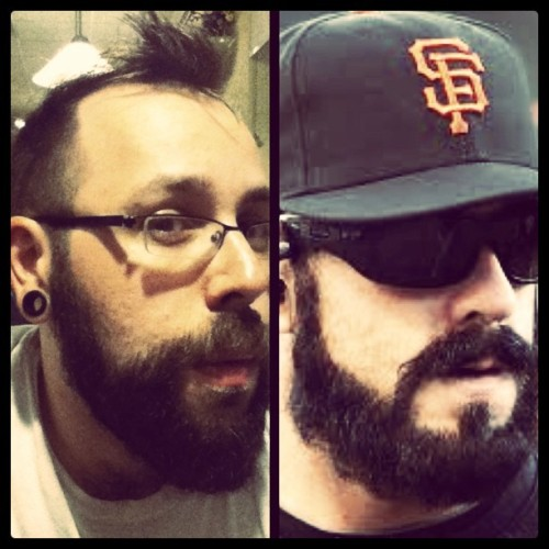 Brian Wilson is starting to resemble my boyfriend.#boyfriend #beard #brianwilson #baseball #sfgiants #iphoneography #pitcher #epic (Taken with instagram)